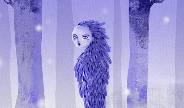 mujer de hielo